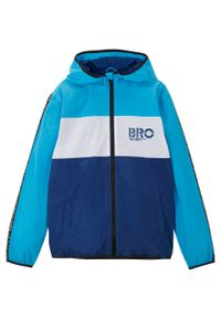 Niebieska kurtka bonprix