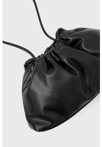 Levi's® - Levi's - Torebka. Kolor: czarny. Styl: biznesowy. Rodzaj torebki: na ramię