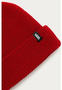 Czerwona czapka Vans