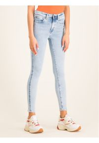 G-Star RAW - G-Star Raw Jeansy Lhana D15179-9136-B165 Niebieski Super Skinny Fit. Kolor: niebieski. Materiał: jeans