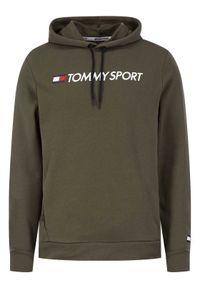 Zielona bluza Tommy Sport sportowa