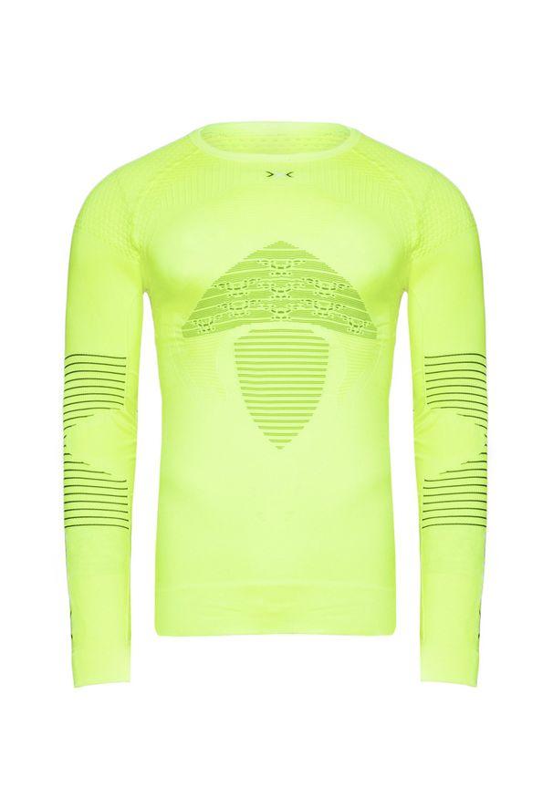Zielona koszulka termoaktywna X-Bionic długa, z długim rękawem
