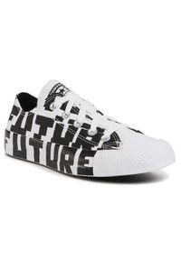 Białe trampki Converse
