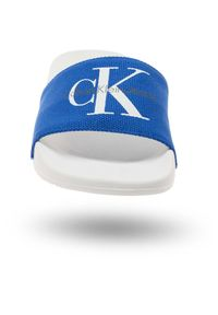Calvin Klein Jeans - KLAPKI CALVIN KLEIN JEANS. Okazja: na spacer, na plażę. Sezon: lato. Styl: sportowy