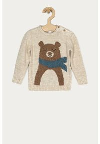 Beżowy sweter OVS na co dzień, casualowy