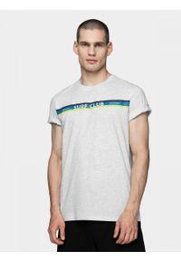 Biały t-shirt outhorn melanż