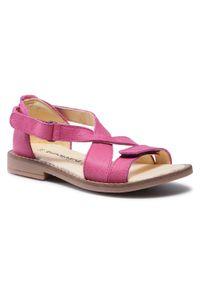 Różowe sandały Bundgaard
