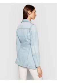 Pinko Kurtka jeansowa Logan PE 21 PDEN 1J10MA Y649 Niebieski Slim Fit. Kolor: niebieski. Materiał: jeans