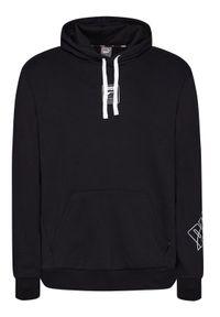 Puma Bluza Rebel Hoodie Fl 583494 Czarny Regular Fit. Kolor: czarny
