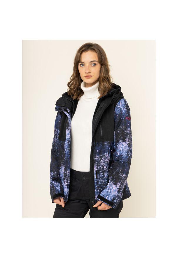 Niebieska kurtka narciarska Roxy