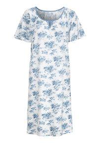 Niebieska piżama Cellbes w kwiaty, krótka