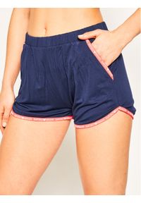Emporio Armani Underwear Szorty piżamowe 164309 0P268 15434 Granatowy