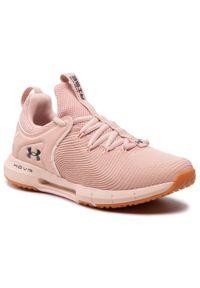 Różowe buty do fitnessu Under Armour