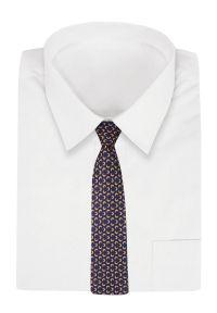 Krawat Chattier klasyczny, w geometryczne wzory