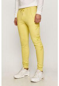 Żółte spodnie dresowe Calvin Klein Jeans