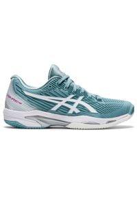 Buty tenisowe Asics Solution Speed Clay FF2 damskie na mączkę ceglaną. Szerokość cholewki: normalna. Sport: tenis