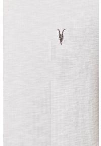 Biały t-shirt AllSaints casualowy, na co dzień #6