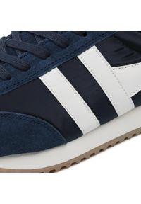 Sneakersy GOLA - Gola Boston 78 CMB108 Navy/Off White/Deep Red. Okazja: na co dzień. Kolor: niebieski. Materiał: materiał, zamsz. Szerokość cholewki: normalna. Styl: casual