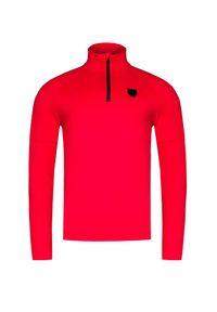 Czerwony golf Toni Sailer z aplikacjami, krótki