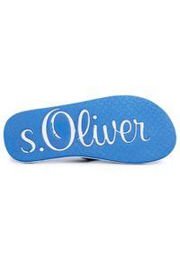 Niebieskie japonki s.Oliver