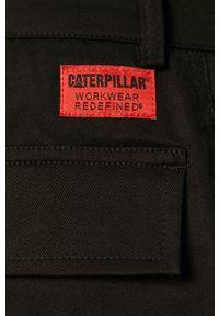 Czarne szorty CATerpillar casualowe, gładkie, na co dzień