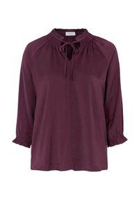 Freequent Bluzka Ellia śliwkowy female fioletowy S (38). Typ kołnierza: kołnierzyk stójkowy. Kolor: fioletowy. Materiał: satyna