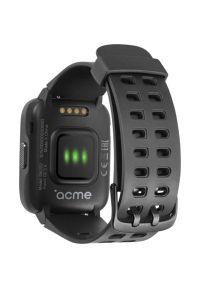Czarny zegarek Acme wakacyjny, smartwatch