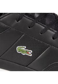 Lacoste - Sneakersy LACOSTE - Court Master 0120 1 Cma 7-40CMA001402H Blk/Blk. Kolor: czarny. Materiał: skóra ekologiczna, materiał. Szerokość cholewki: normalna. Styl: klasyczny