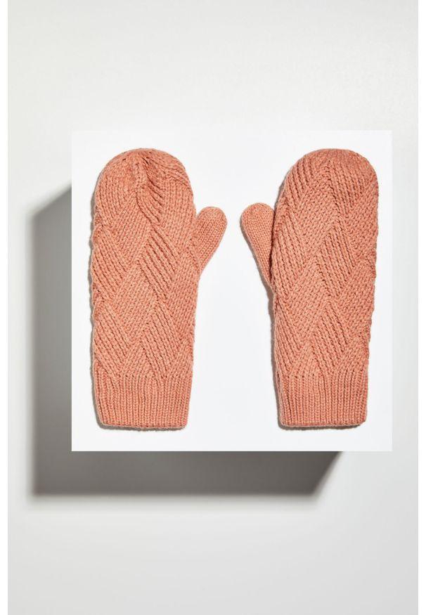 Różowe rękawiczki MOODO