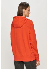 Czerwona bluza Nike Sportswear casualowa, z długim rękawem