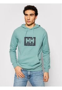 Helly Hansen Bluza Box 53289 Zielony Regular Fit. Kolor: zielony