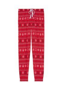 Czerwona piżama Undiz