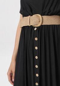 Born2be - Czarna Sukienka Cherinoe. Kolor: czarny