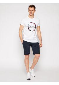 Colmar T-Shirt Frida 7583 6SH Biały Regular Fit. Kolor: biały #3