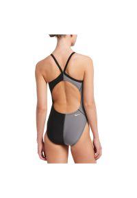 Strój pływacki damski Nike Rift NESS9050. Materiał: tkanina, materiał. Wzór: gładki