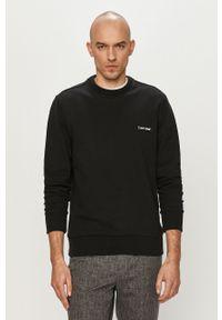 Czarna bluza nierozpinana Calvin Klein casualowa, na co dzień, gładkie