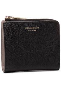 Czarny portfel Kate Spade
