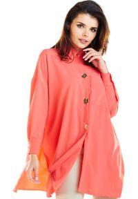 Pomarańczowa koszula Awama