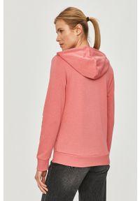 Adidas - adidas - Bluza. Okazja: na co dzień. Kolor: różowy. Materiał: dzianina, poliester. Wzór: nadruk. Styl: casual