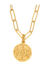 MOKOBELLE - Naszyjnik łańcuch z medalikiem Mokobelle. Materiał: pozłacane, złote. Kolor: złoty. Wzór: aplikacja