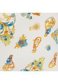 Versace Jeans Couture - Torebka VERSACE JEANS COUTURE - E1VWABZ2 71588 O33. Kolor: biały, niebieski, wielokolorowy. Materiał: skórzane