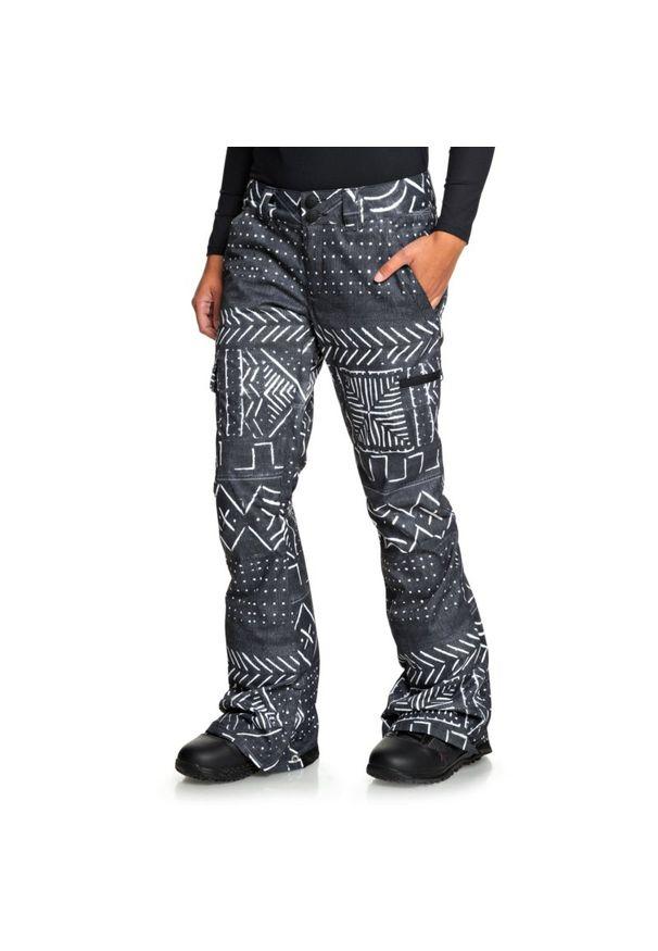 Szare spodnie narciarskie DC