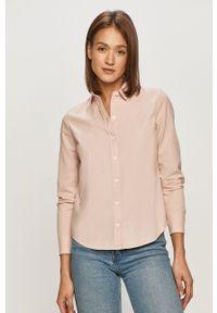 Różowa koszula Levi's® z klasycznym kołnierzykiem, długa