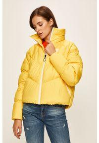 Żółta kurtka Nike Sportswear casualowa, na co dzień, bez kaptura