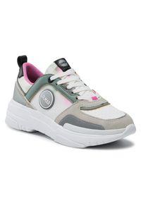Colmar Sneakersy Ayden Dye 122 Biały. Kolor: biały