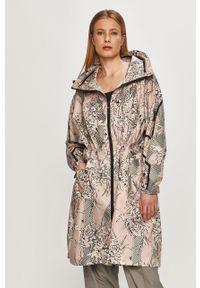Wielokolorowa kurtka Adidas by Stella McCartney z kapturem