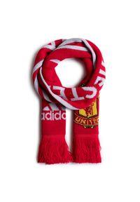 Czerwony szalik Adidas na lato, sportowy