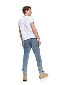 Niebieskie spodnie TOP SECRET na wiosnę, na co dzień