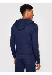 TOMMY HILFIGER - Tommy Hilfiger Bluza Logo UM0UM00708 Granatowy Regular Fit. Kolor: niebieski