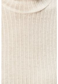 Biały sweter Noisy may casualowy, z długim rękawem, na co dzień